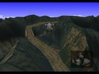 Blick über das Corel-Gebirge