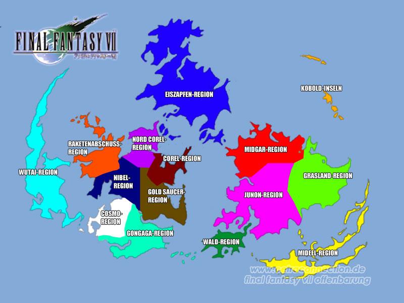 Die Welt Gaia aus Final Fantasy VII